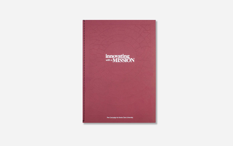 Santa Clara University Case Statement book