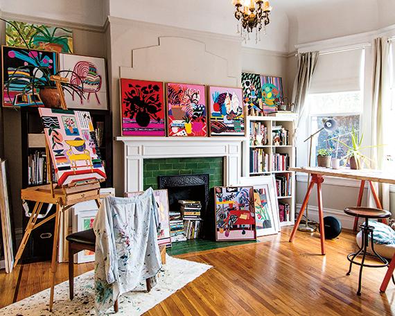 Studio, Painted Mary