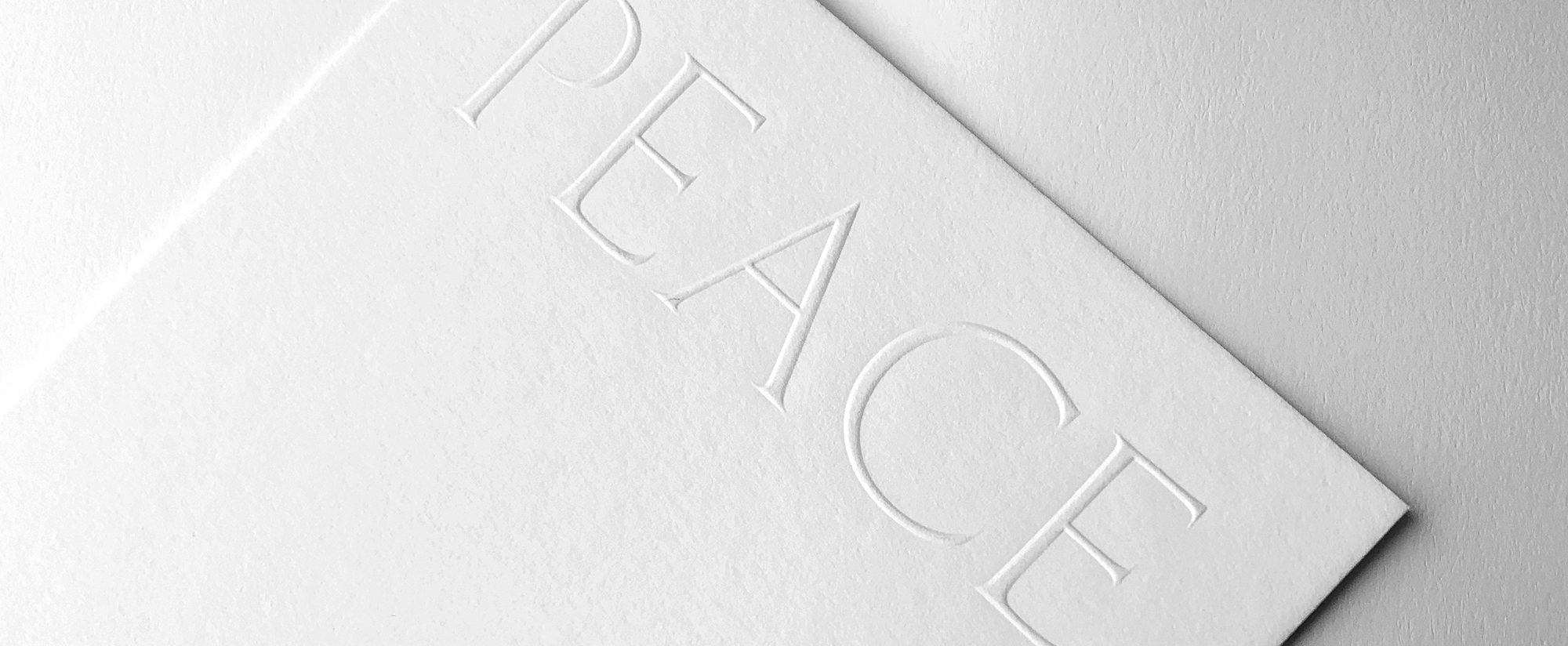 peace card detail