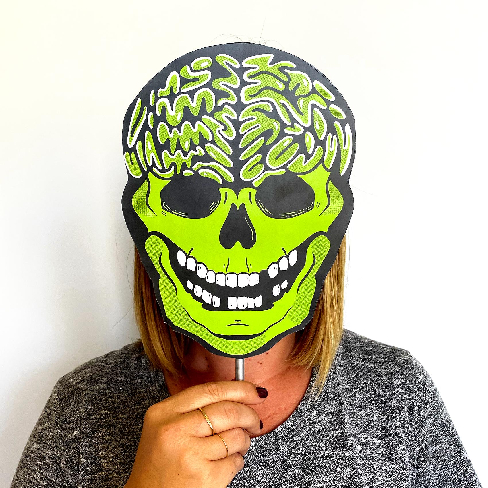 Skull mask demo