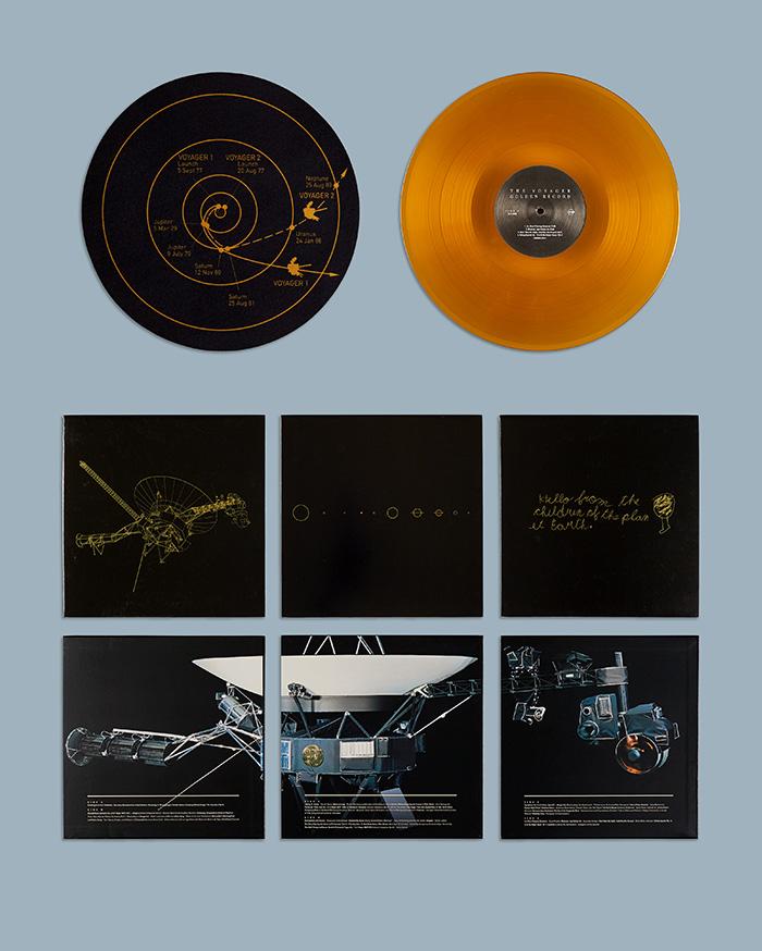 Voyager golden record set