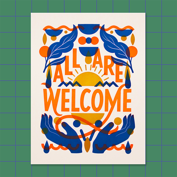 Print by Super Nice Letters