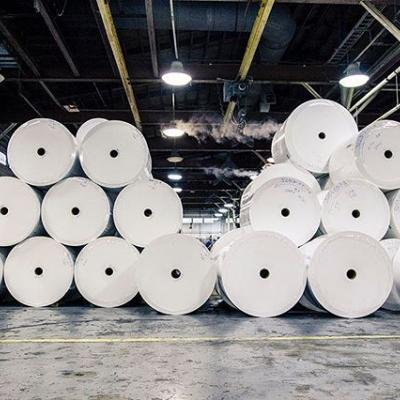 This is how we roll. . #InsideTheMill #Paper #PaperMaking #Rolls #PaperRoll