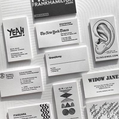 Dense Black Ink + Crane's Crest DTC + @piggybackletterpress = Modern and sophisticated letterpress business cards…at a 220% discount.  Need we say more? . #HotOffThePress  #CranesCrest #Cotton #CottonPaper #BusinessCard #Design #Print #AskForLettra