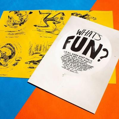 """What's #fun got to do, got to do with it?  Multiple's X Quarterly """"Fun"""" issue explores the idea of what it means to have fun.  The @multipleinc team tested a variety of papers during the process of producing this issue of the X Quarterly, but arrived on Mohawk #Superfine for the way it accentuated the publication's design elements.  Oversized pages and perfect color consistency — now that's fun.  Check it out (link in bio) #paper #print #mohawkpaper #whatwillyoumaketoday #printdesign #designforprint #graphicdesign"""