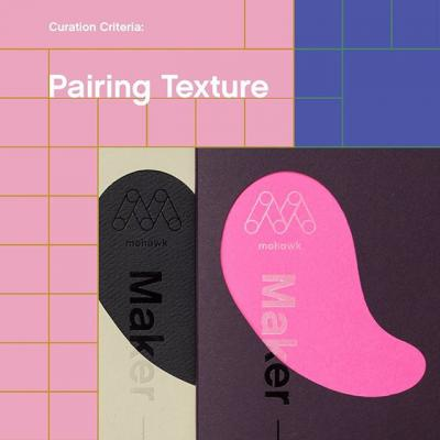 #TheMohawkShow Curation Criteria: Pairing Texture . Pairing dramatically different textures can heighten sophistication and elevate your message, capturing your audience's attention through touch. How have you used texture to emphasize a printed project? 🧐  Submit your work today! (Link in bio)