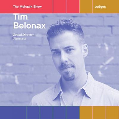 Introducing Tim Belonax as a Mohawk Show judge! 🎉 . At @pinterest, Tim uses his world-class design talent to help people understand what Pinterest is and how it can support their creative goals. Though Pinterest is a digital way to collect ideas, he believes strongly in the power of print to enact social change. We're beyond excited to have him part of the show! . Enter #TheMohawkShow today!