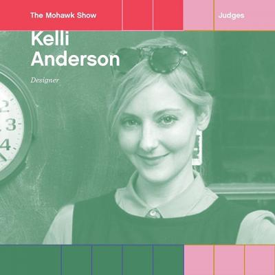 🥁Drumroll please: Introducing @kellianderson as a Mohawk Show judge! . Kelli's work operates in the space between conceptual art, graphic design, and tech. Her whimsical books have featured a working paper planetarium, a pop-up pinhole camera, and a paper record player. Whenever she can, Kelli uses humble, lo-fi materials to expose the invisible magic of the world and make abstract concepts into tangible items, preferably the kind you can play with. . What do you have to show Kelli? Enter #TheMohawkShow today!