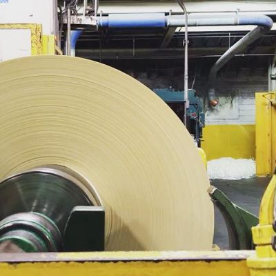 """December """"rolled"""" right in, didn't it? 😏 . Finishing up some Crane's Lettra Ecru at our Waterford, NY Mill. . #MohawkPaper #Paper #PaperMaking #Lettra #CranesLettra"""