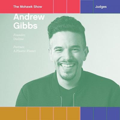 """📣@agibbsdesign is one of #TheMohawkShow judges! . Andrew has been called an """"innovator in the world of design."""" As founder of @thedieline and partner of @aplasticplanet, Andrew's commitment to protecting the environment through smarter design solutions is his driving force. His goal: Ignite and inspire the world to turn off the plastic tap. . Ignite and inspire Andrew by submitting your work to The Mohawk Show today! (link in bio)"""