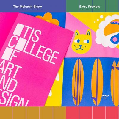 The Mohawk Show Entry Preview: @Otiscollege Viewbook by @sheharazad. . Submit your work today! (Link in bio) . #TheMohawkShow #DesignCompetition #CallForEntries #CallForSubmissions #Design #GraphicDesign #Print #PrintDesign #WhatWillYouMakeToday?