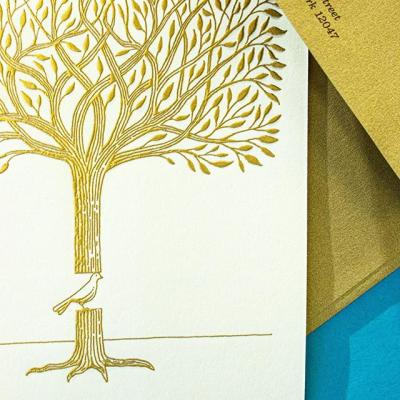 As 2019 comes to an end, there is no better way to thank customers, colleagues, and friends than with a warm, holiday greeting. . This year we asked @crafraz to illustrate our holiday card and give people a moving reminder in the spirit of the season. The outcome: A frameable engraved illustration using metallic gold ink that challenges its recipients to look closer. Head over to our blog to learn more. #LinkInBio . #HappyHolidays #HolidayCard #MohawkPaper #CranesLettra #Engraving