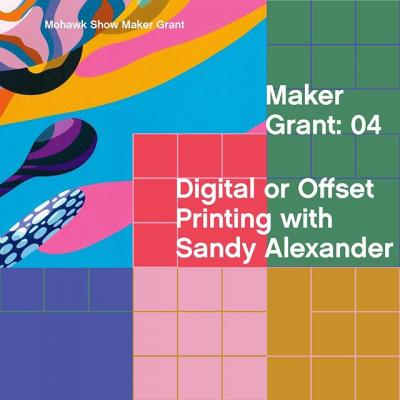 We've partnered with @sandyalexanderinc for years to produce the Mohawk Maker Quarterly that you know and love—and now's your chance to partner with them on your next digital or offset printing project.  Sandy Alexander are experts in color science management and printing who will work diligently with you to bring your vision to life in vivid color. Their goal is to create something memorable; something with impact—something that could be yours to make.  Enter your work into #TheMohawkShow today for a chance to win!