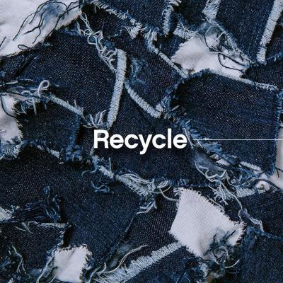 Recycle (/rēˈsīk(ə)l/) verb: Convert (jeans, jackets, t-shirts, and textiles) into reusable material. . Sustainability with a story. Coming Earth Day 2020.